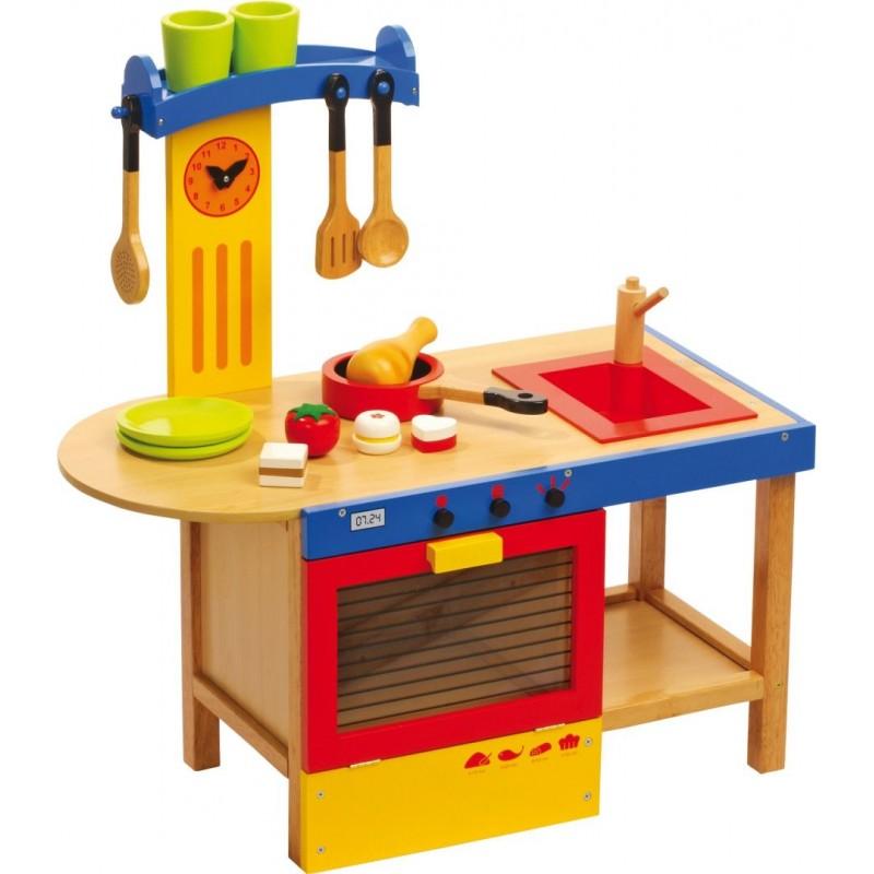 Cuisine Magique - Jeux d'imitations en bois-Jeux de rôles-Dans la cuisine en bois | BambinBois