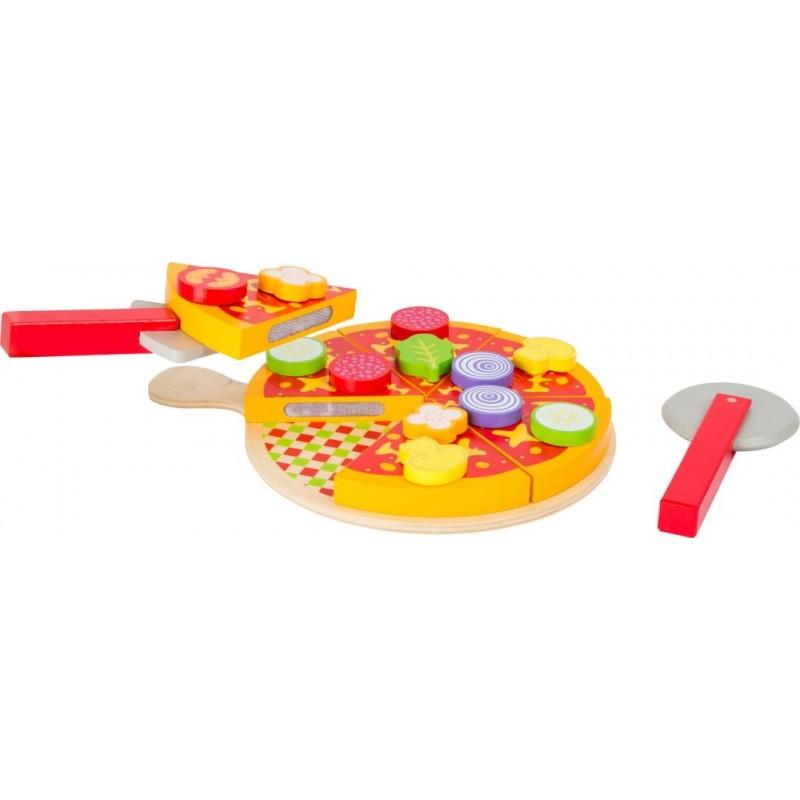 Pizza - jouet-Jeux de rôles-Dans la cuisine en bois   BambinBois