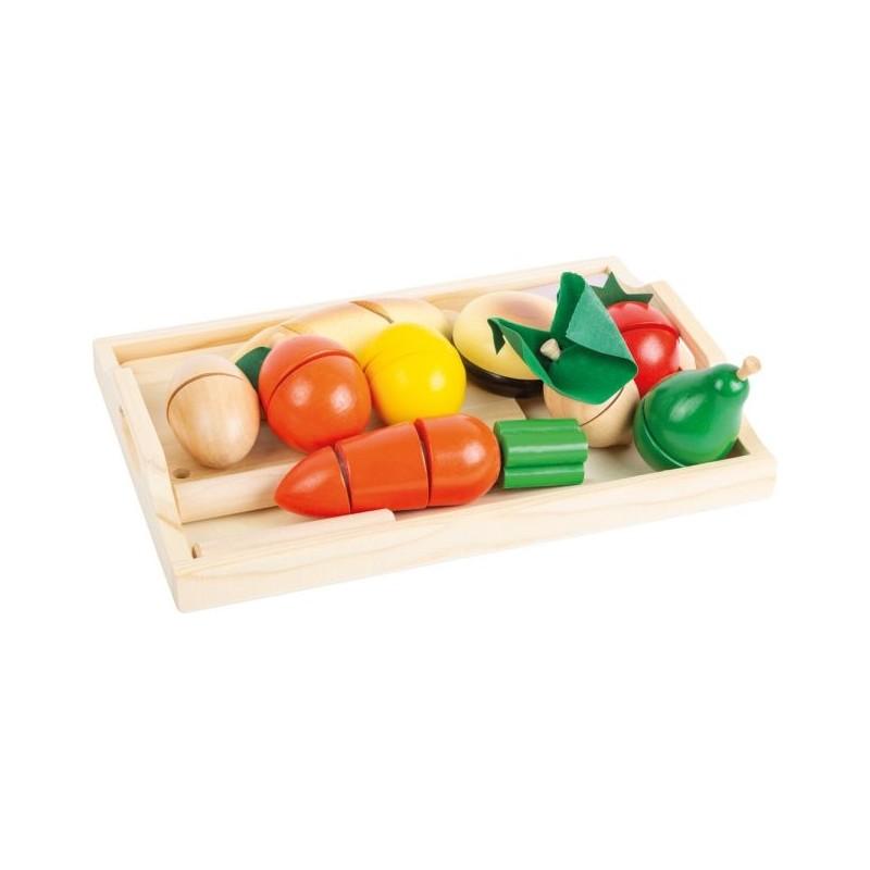 Petit-déjeuner à découper-Jeux de rôles-Dans la cuisine en bois | BambinBois