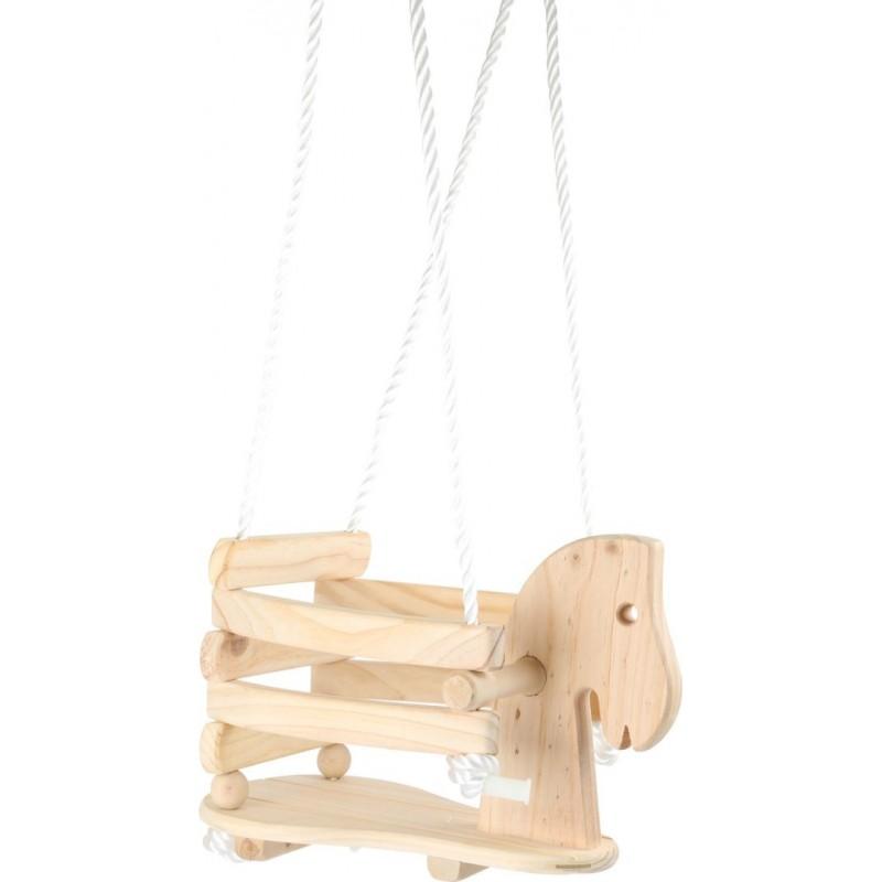Balançoire pour tout-petits - Poney-Jouets de plein air et de mouvement en bois | BambinBois