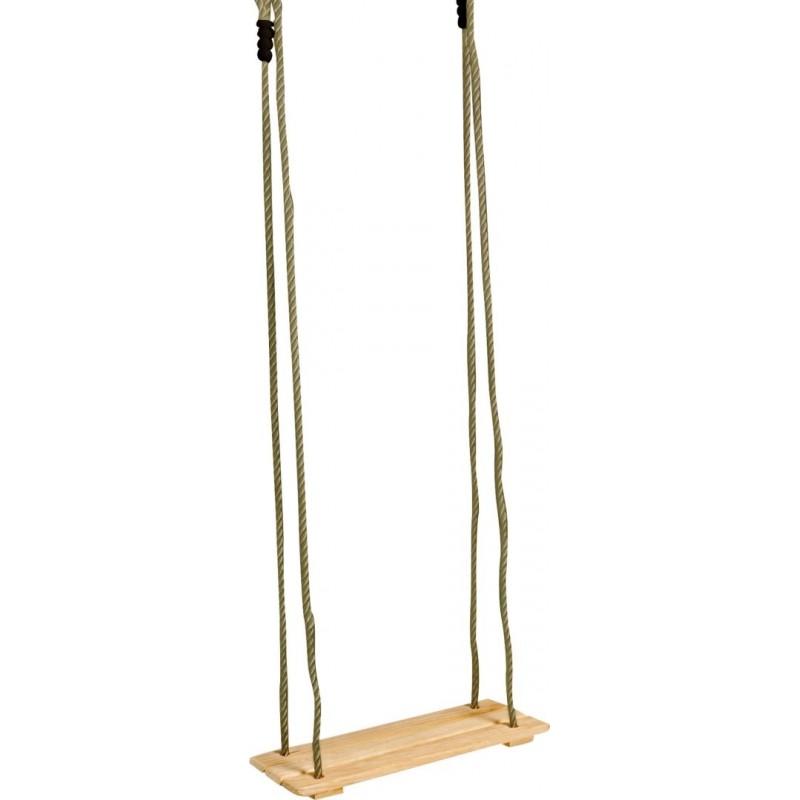 Balançoire à suspendre en bois-Jouets de plein air et de mouvement-Balançoires et portiques en bois | BambinBois