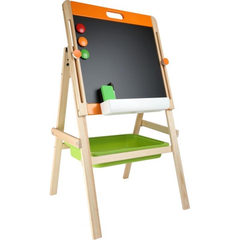 Tableau à craie aimanté-Loisirs créatifs, Coloriage et Ecriture-Papeterie et fournitures scolaires en bois | BambinBois