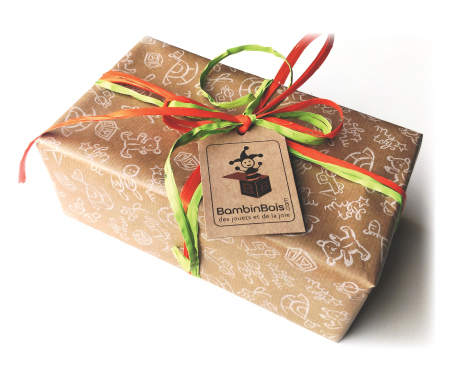 Paquet cadeau Bambinbois